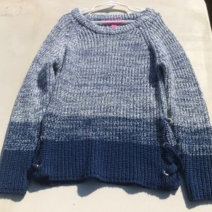 Girls embroidered sweater.